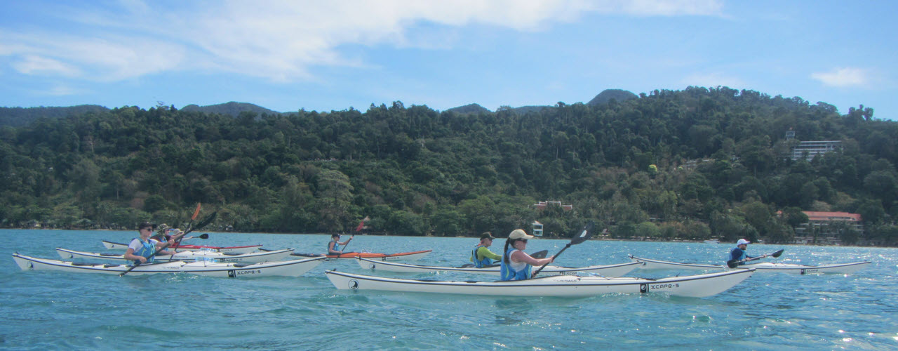 sea kayaking in koh chang