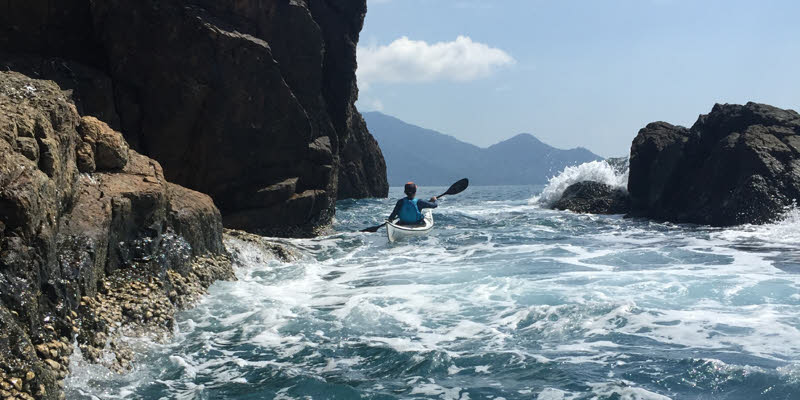 3 day sea kayaking expedition